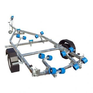 Extreme EXT750 Swing Galvanised Boat Trailer